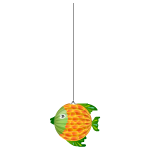 Tropical Fish Paper Hanging 1