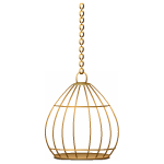 Hanging Bronze Cage 2