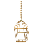 Hanging Bronze Cage 3