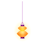 Yellow Party Lantern