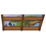 Habi - Ceiling Window with Animated Branch