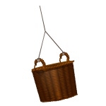 Habi - Empty Wicker Basket 3