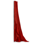 Crimson Gothic Curtain Right
