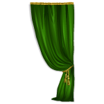 Emerald Palace Curtain Right