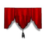 Blood Red Valance