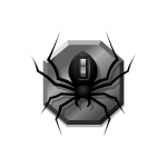 Falling Spiders Effect Switch