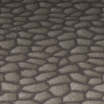 Gray Cobble Stone Floor