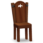 Medieval Wooden Chair