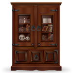 Medieval Royal Bookcase