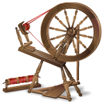 Late 18th Century Spinning Wheel