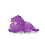 Banner Animated Baby Dino