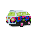 Flower Hippie Bus