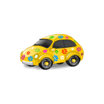 Yellow Hippie Bug