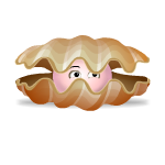 Animated Curious Clam