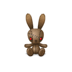 Animated Creepy Bunny Tickle Me