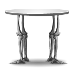 Skeleton Legs Bed Table