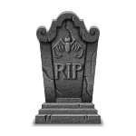 Classic RIP Tombstone