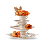 Cups and Roses Pyramid