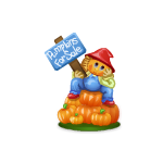 Pumpkins For Sale Figurine