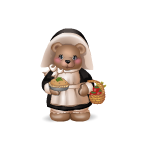 Pilgrim Girl Bear Plushie