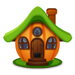 Animated Pumpkin House
