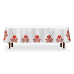 Maple Leaf Print Dining Table