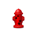 Red Toy Fire Hydrant Advent Gift