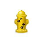 Yellow Toy Fire Hydrant Advent Gift