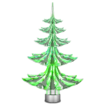 Green Christmas Tree Garden Light