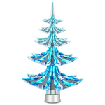 Blue Christmas Tree Garden Light