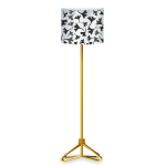 Ginkgo Pattern Floor Lamp by Petssoni
