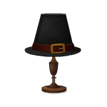 Pilgrim Hat Lamp
