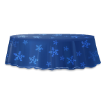 Snowflake Flurry Table Skirt