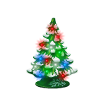 Miniature Christmas Tree Figurine