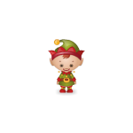 Little Santa's Helper Plushie