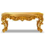 Rococo Style Gold Console Table