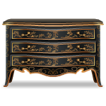 Rococo French Noir Drawer Chest