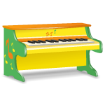Yellow Toy Piano