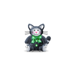Emerald Bow Cat Plushie