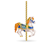 Animated Carousel Horse