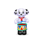 Wind Up Puppy with Drums