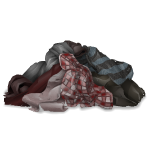 Moving Pile of Clothes