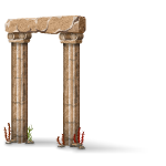 Sunken Arched Pillar
