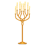 Rivenville Golden Candelabra