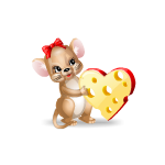 Lovergirl Mouse with Cheese