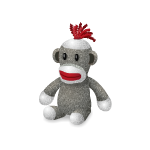 Sock Monkey Plushie