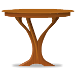Elven Wooden Table