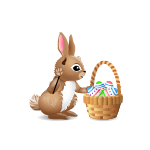 Animated Bunny Egg Painter