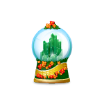 Emerald City Snow Globe
