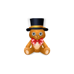 Bear Plushie in Top Hat